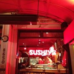 Photo taken at Sushiya On Sunset by Alain B. on 8/17/2012