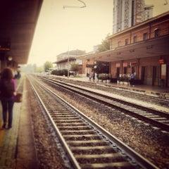 Photo taken at Stazione Ferrara by Vinicius R. on 9/12/2012
