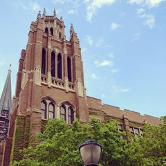 Photo taken at Marquette Hall by Father M. on 5/3/2012