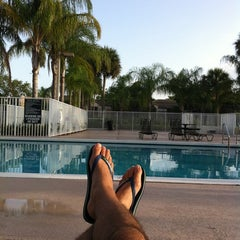 Photo taken at The Pool At The Resort by Tony M. on 7/18/2012