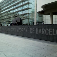 Photo taken at Museu d'Art Contemporani de Barcelona (MACBA) by Miriam P. on 6/8/2012