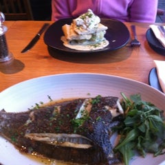 Photo taken at Loch Fyne Restaurant by Jonathan O. on 8/15/2012