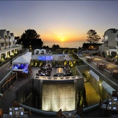 Photo taken at L'Auberge Del Mar by John C. on 8/16/2012