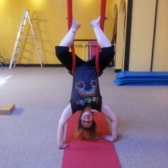 Photo taken at Time Out Pilates & Fitness Studio by Bj W. on 2/12/2012