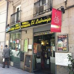 Photo taken at Restaurante El Labriego by Juan Carlos M. on 5/11/2012