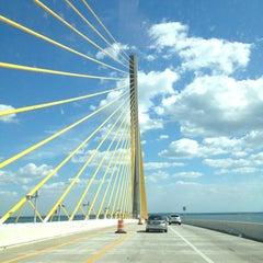 Photo taken at Sunshine Skyway Bridge by Eric L. on 3/19/2012