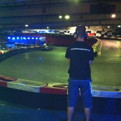 Photo taken at Indoor Karting Barcelona by Jaume on 7/12/2012