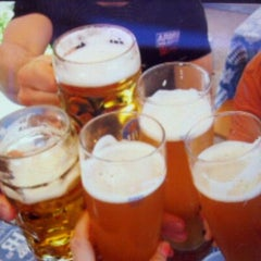 Photo taken at Hofbräu München Beer Hall by kat c. on 3/26/2012