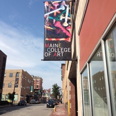 Photo taken at MECA Maine College Of Art by Max S. on 7/14/2012