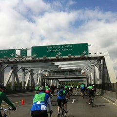 Photo taken at Third Avenue Bridge by Izzy I. on 5/6/2012