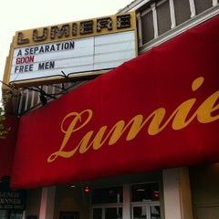 Photo taken at Lumiere Theatre by Steve R. on 4/10/2012
