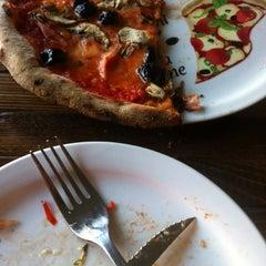 Photo taken at Pizzeria Via Mercanti by James B. on 7/30/2012