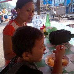 Photo taken at Bubur Ayam Bang Johan by pepolicious @. on 5/6/2012