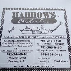 Photo taken at Harrows Chicken Pies by Erin M. on 5/3/2012