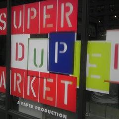 Photo taken at SUPER(DUPER)MARKET by Ankeet S. on 7/15/2012