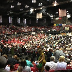 Photo taken at Convocation Center by Aaron H. on 7/21/2012