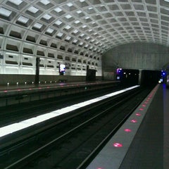 Photo taken at Crystal City Metro Station by Stephanie Pegg D. on 7/24/2012