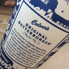 Photo taken at Culver's by Rebekah J. on 8/4/2012