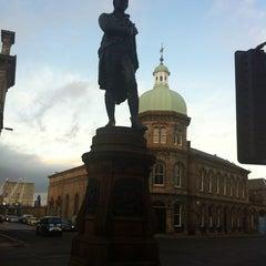 Photo taken at Burns Monument by Kristina K. on 2/25/2012
