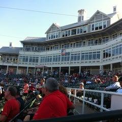 Photo taken at Dr Pepper Ballpark by Robert R. on 9/5/2012