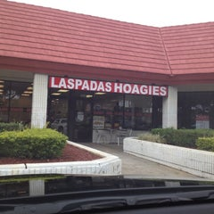 Photo taken at Laspada's Original Hoagies by Jani H. on 2/6/2012