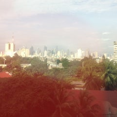 Photo taken at Philippine Airlines Head Office by rico t. on 8/9/2012