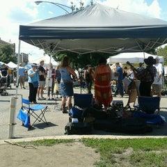 Photo taken at Logan Square Farmer's Market by Rebecca T. on 8/19/2012
