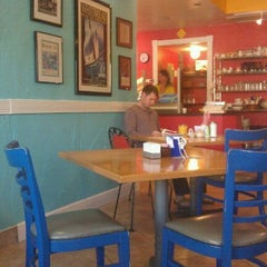Photo taken at Newsworthy Cafe by David R on 3/6/2012