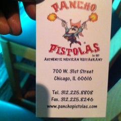 Photo taken at Pancho Pistolas by Shanny on 3/13/2012