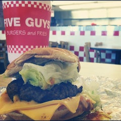Photo taken at Five Guys by Shannon S. on 8/31/2012
