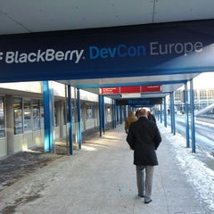 Photo taken at BlackBerry DevCon Europe at the Amsterdam RAI Convention Centre by Peter P. on 2/7/2012