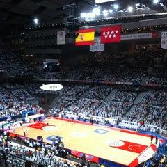 Photo taken at Barclaycard Center - Palacio de Deportes de la Comunidad de Madrid by Antonio S. on 6/13/2012