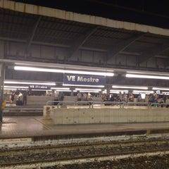Photo taken at Stazione Venezia Mestre by Leah Hannah P. on 8/11/2012