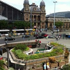 Photo taken at Nyugati tér by GK on 5/26/2012