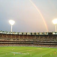 Photo taken at Melbourne Cricket Ground (MCG) by Shariq A. on 6/23/2012