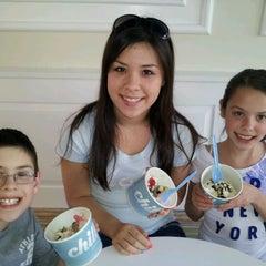 Photo taken at Chill Frozen Yogurt by Wendy C. on 3/13/2012