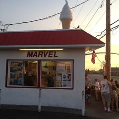 Photo taken at Marvel Ice Cream by Zachary on 7/2/2012
