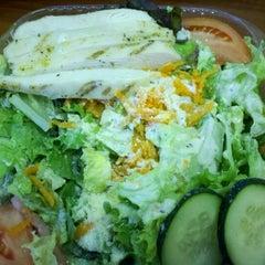 Photo taken at Top of the Block Sandwich Shoppe by jocelyn c. on 4/18/2012