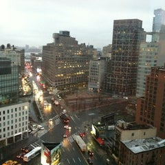 Photo taken at Sheraton Tribeca by Jessica R. on 3/1/2012