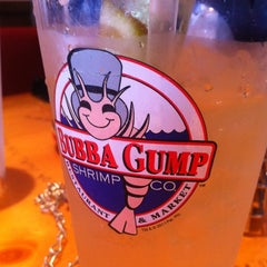 Photo taken at Bubba Gump Shrimp Co. by Mitchell S. on 6/7/2012