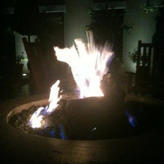 Photo taken at Avia Terrace and Fire Pit by Tea Kay on 8/10/2012