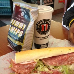 Photo taken at Jimmy John's by Rao G. on 8/28/2012