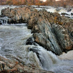Photo taken at Great Falls National Park by Kym T. on 3/18/2012