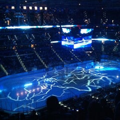 Photo taken at Amalie Arena by Cheryl P. on 2/5/2012