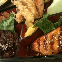 Photo taken at Sushi House by Paula A. on 6/4/2012