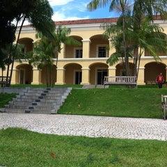 Photo taken at Casa das Onze Janelas by Joana S. on 4/16/2012