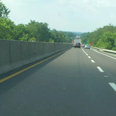 Photo taken at I-476 NE Extension by Michael on 7/22/2012