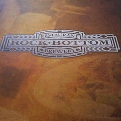 Photo taken at Rock Bottom Restaurant & Brewery by TrishaTrixie H. on 8/4/2012