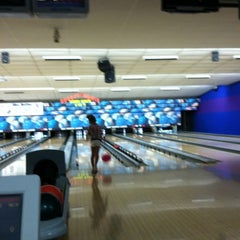 Photo taken at ABC North Lanes by Carrie on 7/29/2012