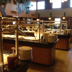 Photo taken at Pacific Seafood Buffet by Bonnie B. on 3/8/2012